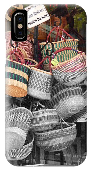 Colored Baskets Phone Case by David Bearden