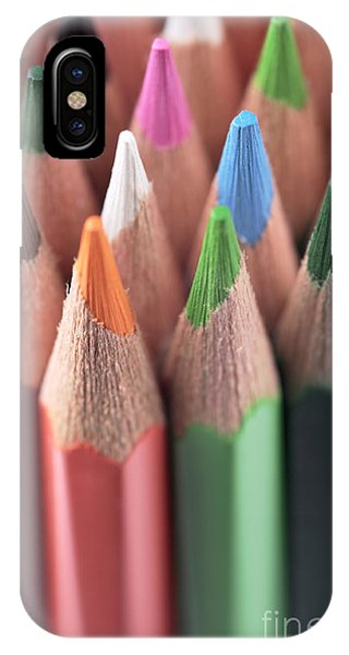 Coloured Pencil iPhone Case - Colored Pencils 3 by Neil Overy