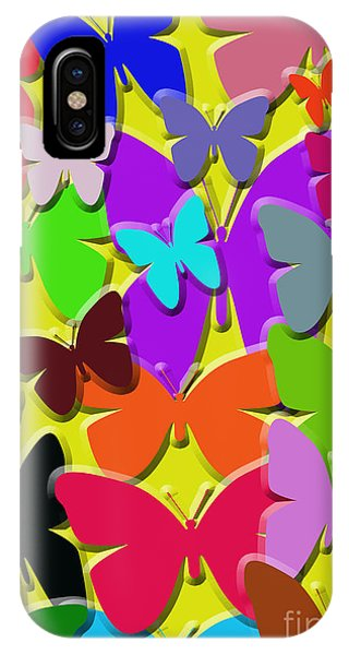 Colorful Butterflies IPhone Case