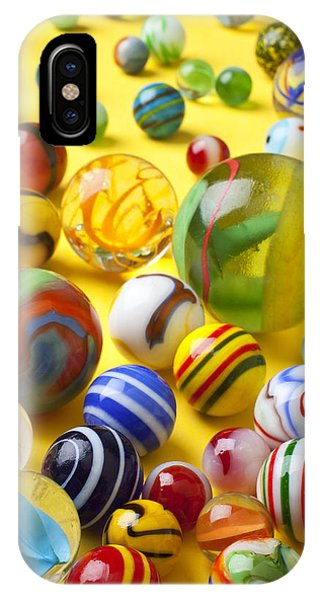 Novelty iPhone Case - Colorful Marbles Two by Garry Gay