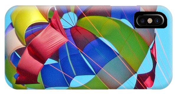 Colorful Parachute IPhone Case