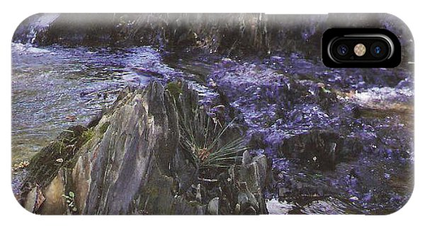 Colors In The Stream IPhone Case