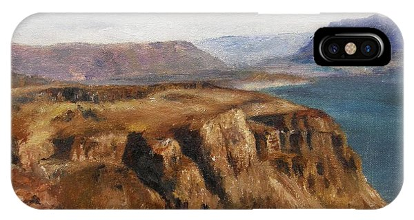 Columbia River Gorge I IPhone Case