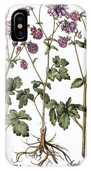 Columbine Flowers Phone Case by Georgette Douwma