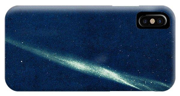 Luminous Body iPhone Case - Comet Ikeya Seki, 1965 by Science Source