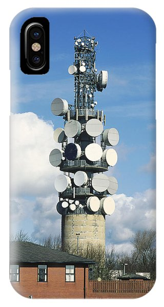 Communications Tower Phone Case by Andrew Lambert Photography