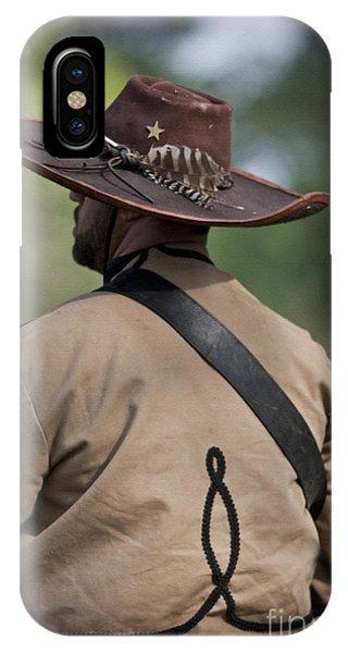 Confederate Cavalry Soldier IPhone Case
