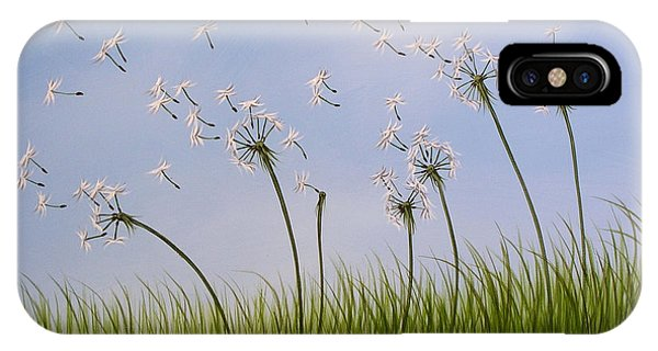 Contemporary Landscape Art Make A Wish By Amy Giacomelli IPhone Case