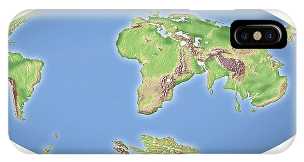 Continental Drift After 100 Million Years Phone Case by Mikkel Juul Jensen