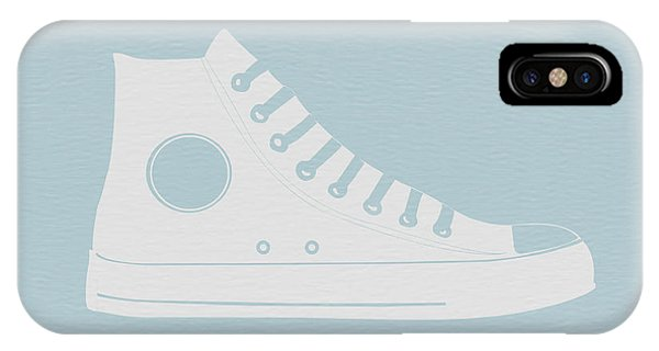 American Cars iPhone Case - Converse Shoe by Naxart Studio