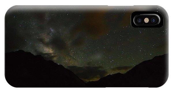 Convict Lake Milky Way Galaxy IPhone Case