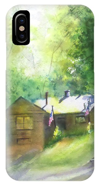 Cool Colorado Cabin IPhone Case