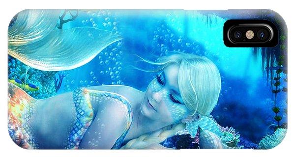 Reef iPhone Case - Coral Dreams by Karen Koski