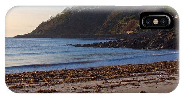 Cornish Seascape Meanporth IPhone Case