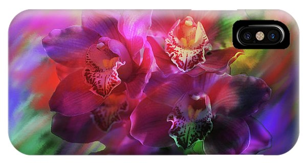 Coronation Orchids  IPhone Case