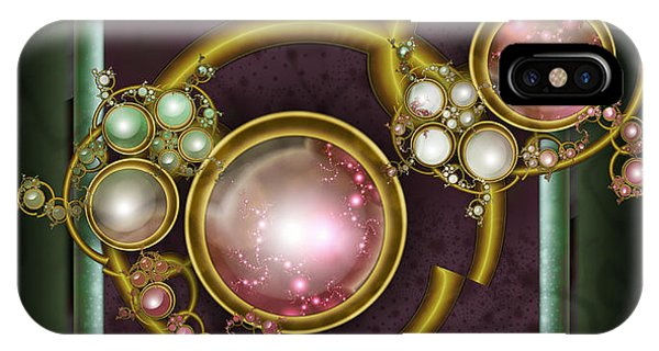 Cosmic Crystals IPhone Case