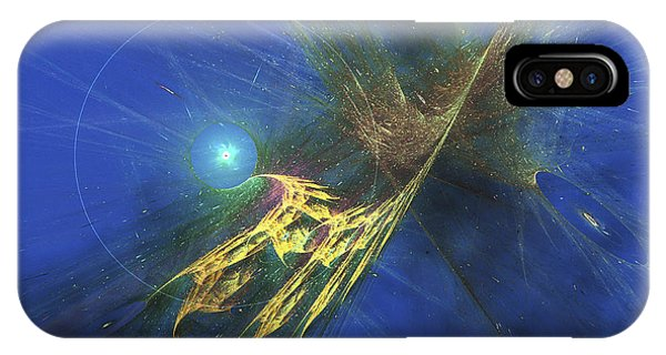 Light Speed iPhone Case - Cosmic Image Of Our Vast Universe by Corey Ford