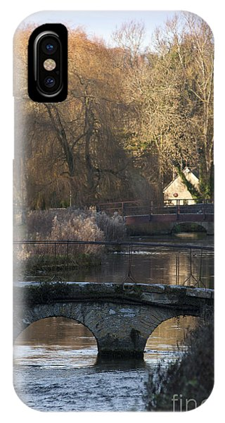 Cotswold River Scene IPhone Case