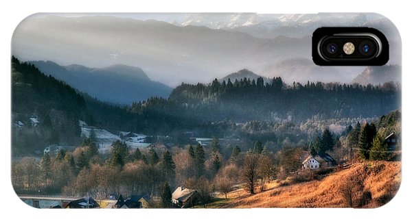 Countryside. Slovenia IPhone Case
