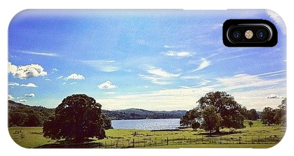 Beautiful iPhone Case - #countryside #trees #lake #lakedistrict by Samuel Gunnell
