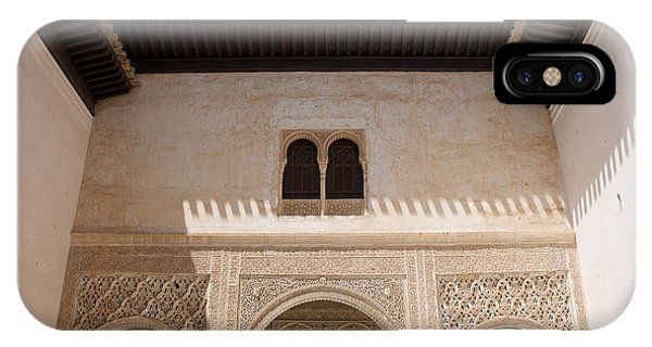 Courtyard Roof Alhambra IPhone Case