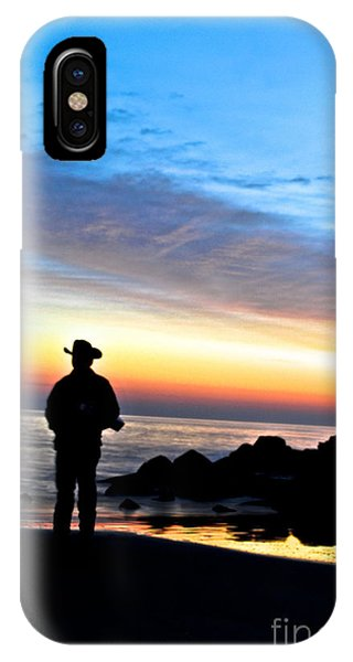 Cowboy Sunrise IPhone Case