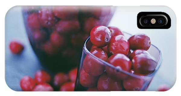 Cranberries Phone Case by David Munns