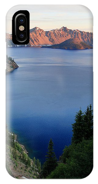 Crater Lake Sunrise Phone Case by Pierre Leclerc Photography