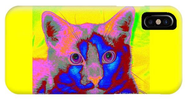 Crayola Cat IPhone Case