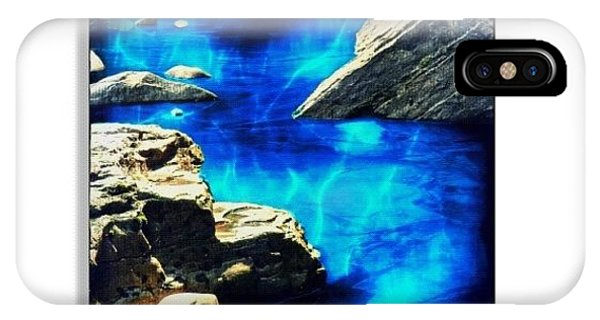 Edit iPhone Case - Creek by Mari Posa