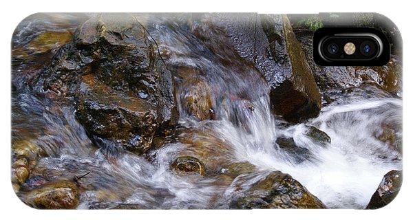 Creek Scene On Mt Tamalpais IPhone Case