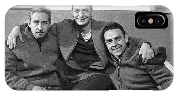 Crew Of The Voskhod 1 Spacecraft, 1964 Phone Case by Ria Novosti