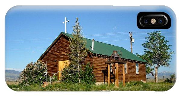 Crowheart Church IPhone Case