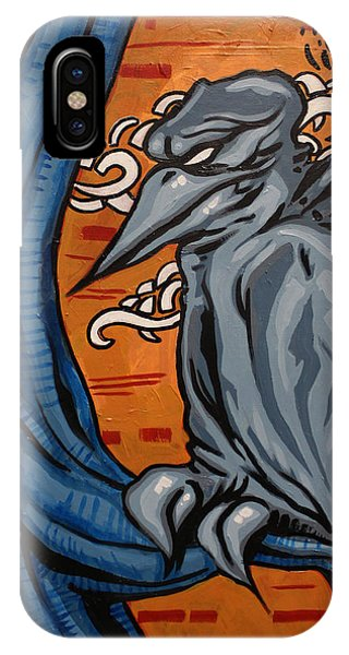 Crows In The Jungle Phone Case by Joshua Dixon