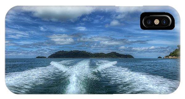 Tidal iPhone Case - Cruising by Adrian Evans