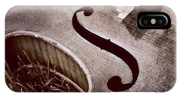 Music iPhone Case - Culture & Texture #violin #classical by Lighting and Timing