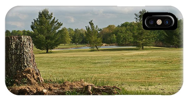 Crossville iPhone X Case - Cumberland Cove Golf Course by Douglas Barnett