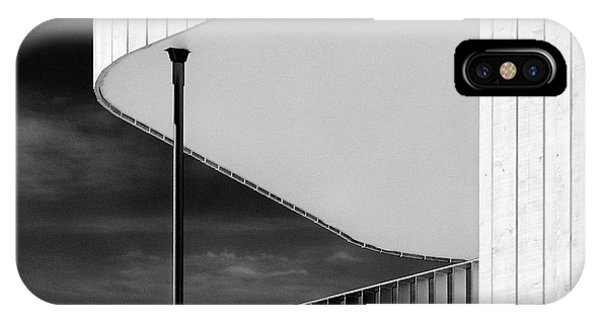 Curved Balcony IPhone Case
