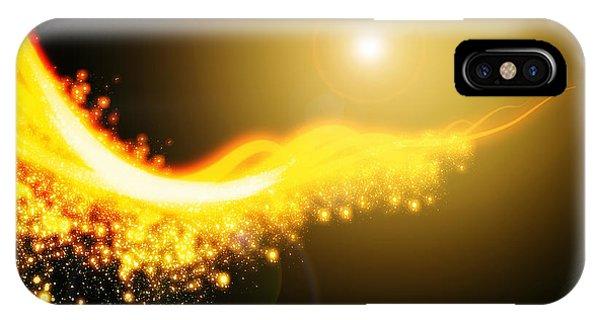 Astral iPhone Case - Curved  Lighting  by Setsiri Silapasuwanchai