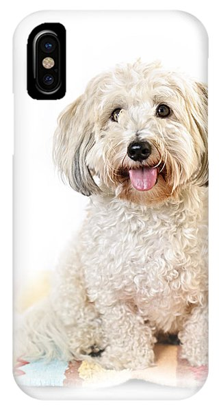 Cute Dog Portrait IPhone Case