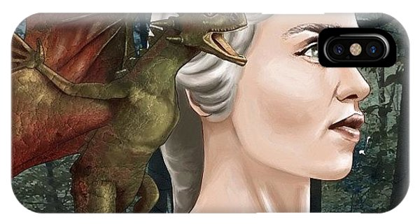 Supply iPhone Case - Daenerys by Tony Santiago