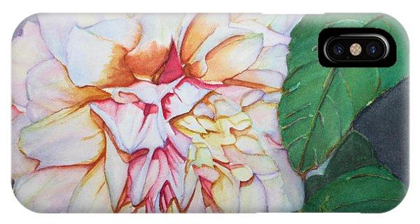Dahlia Beauty IPhone Case