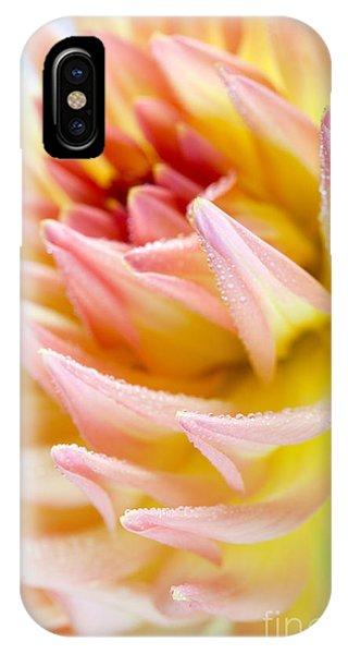 Soft iPhone Case - Dahlia Flower 13 by Nailia Schwarz