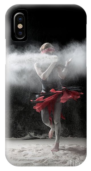 Dancing In Flour Series IPhone Case