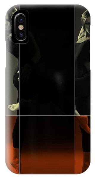 Dancing iPhone Case - Dancing Mirrors by Naxart Studio