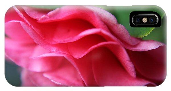 Dancing Petals Of The Camellia IPhone Case
