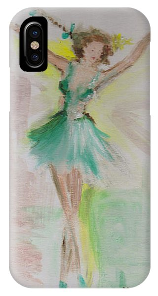 IPhone Case featuring the painting Dance by Laurie Lundquist