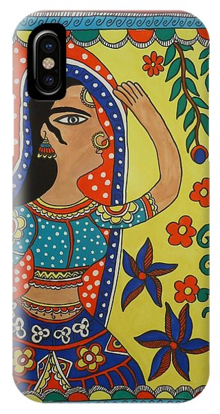 Dancing Woman Phone Case by Shakhenabat Kasana