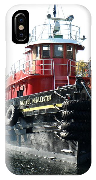 Daniel Mcallister Tug Boat Old Port Montreal Canada Phone Case by Rosie Brown