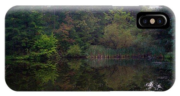 Crossville iPhone X Case - Dark Lake 1 by Douglas Barnett